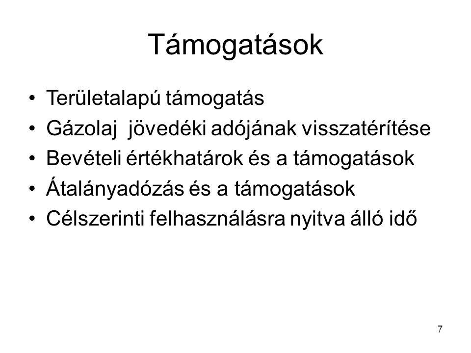 28 Külön adózó jövedelmek Ingatlan értékesítés lakás 2009 más 1999 Ingó 600 000 ft 200 000 ft Osztalékelőleg Osztalék –külföldről származó, bevalláskor fizet