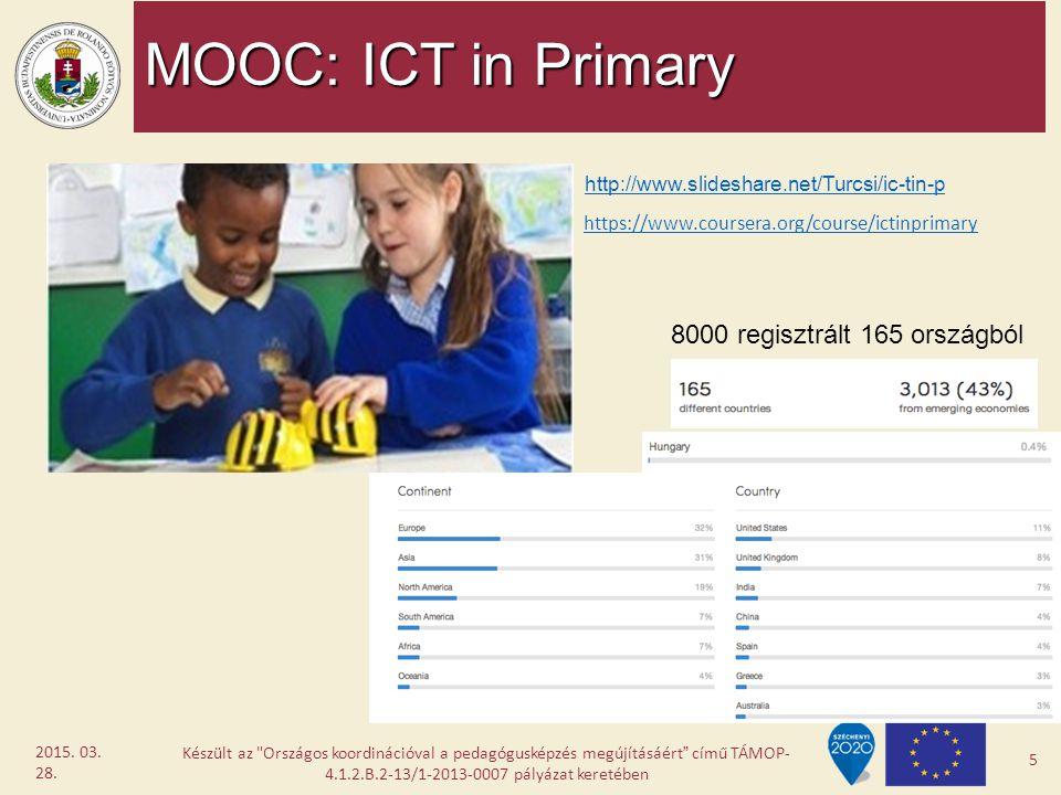 MOOC: ICT in Primary Készült az
