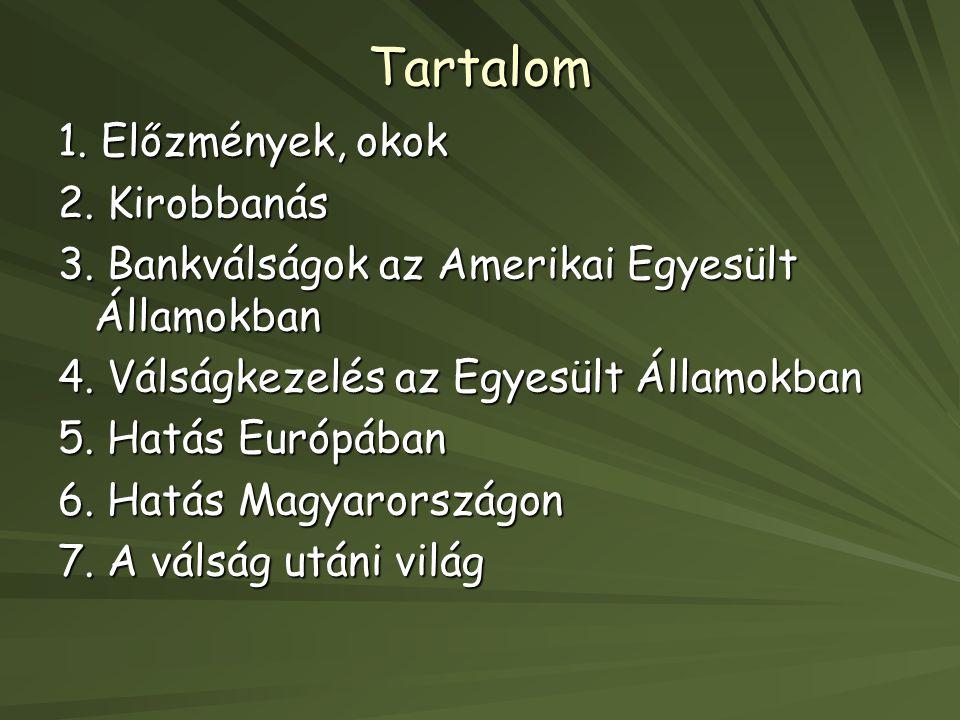 6.Hatás Magyarországon Agrárválság 1.