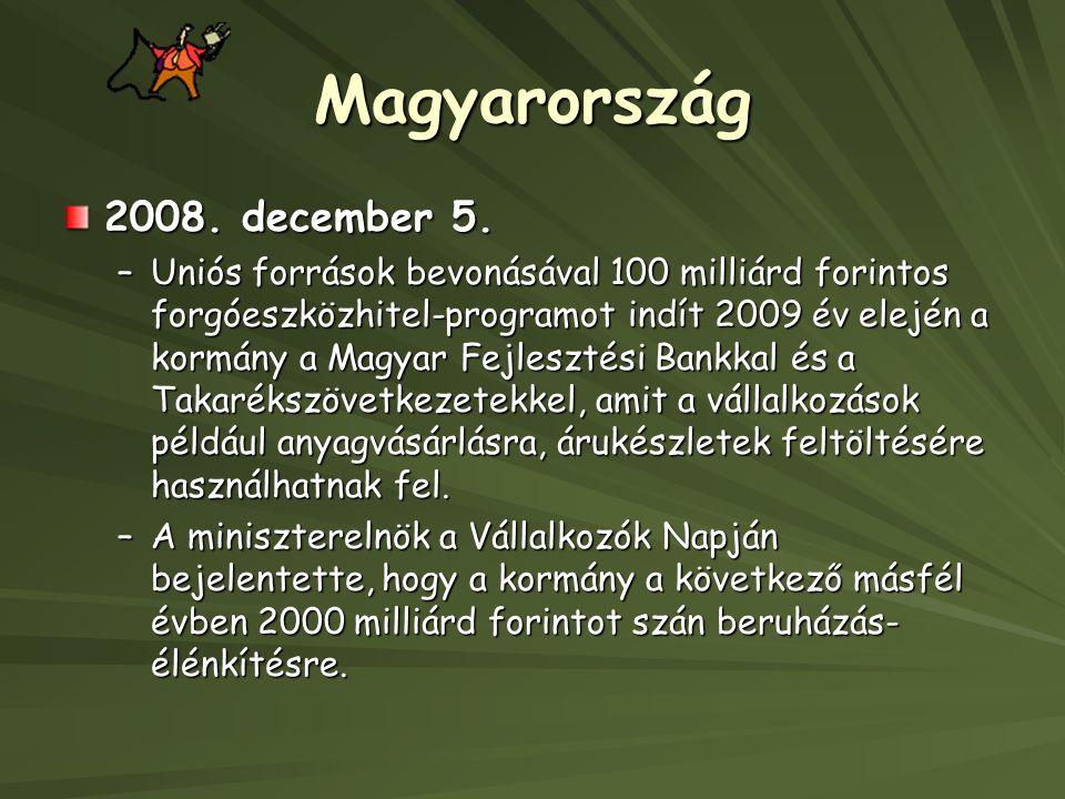 Magyarország 2008.december 5.