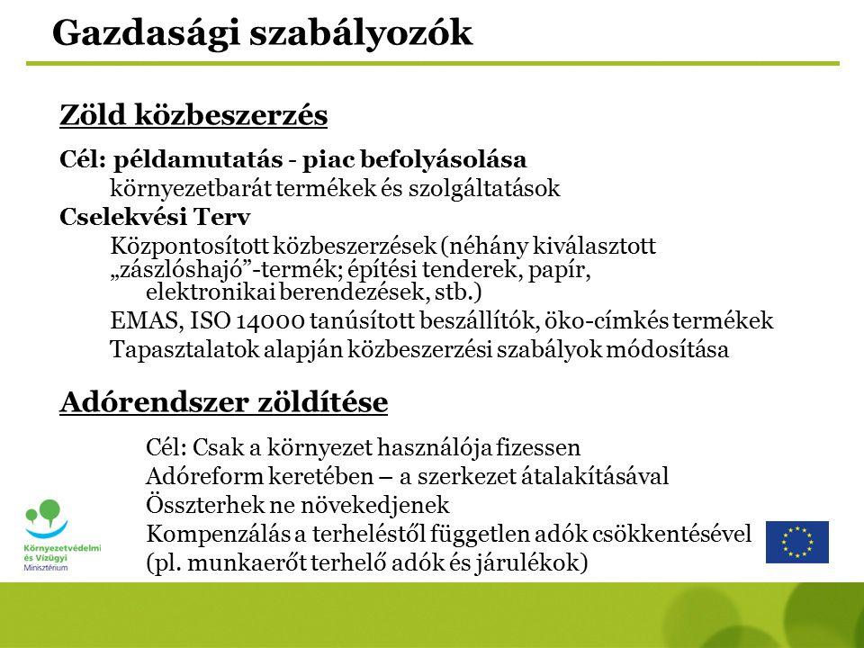 Hazai stratégiák, programok Magyarország megújuló energiaforrás felhasználás növelésének stratégiája, 2008-2020 konkrét intézkedések, programok, célok Az új stratégiát 2008.