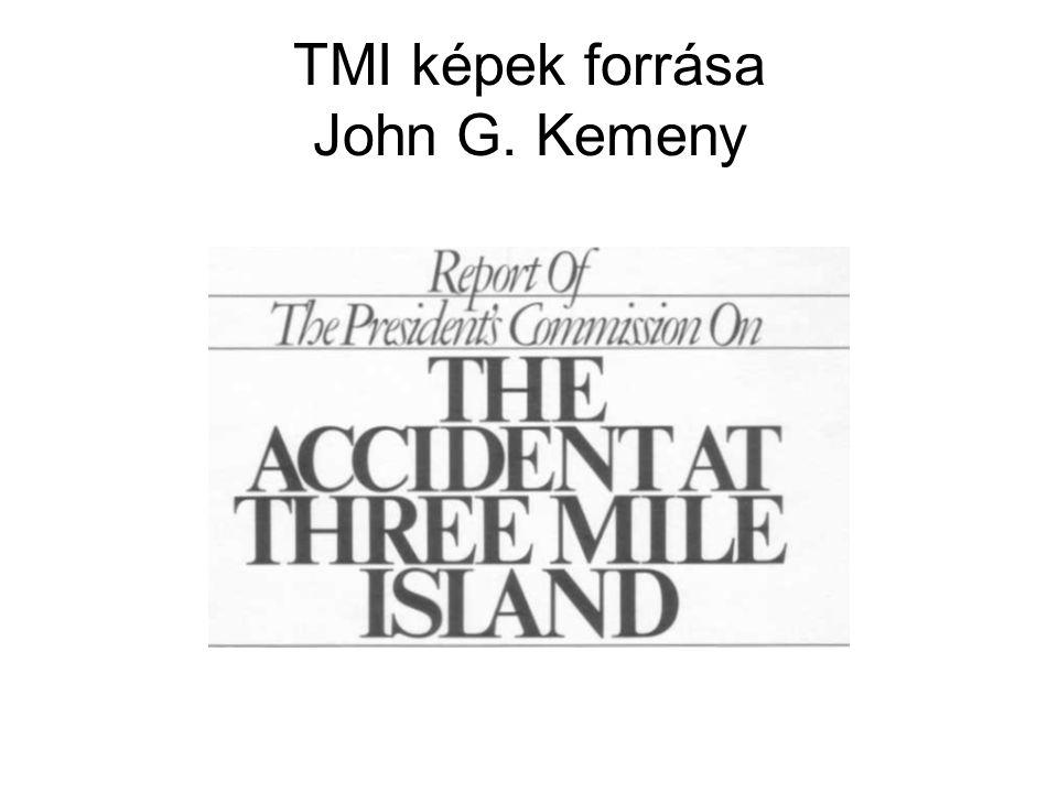 TMI képek forrása John G. Kemeny