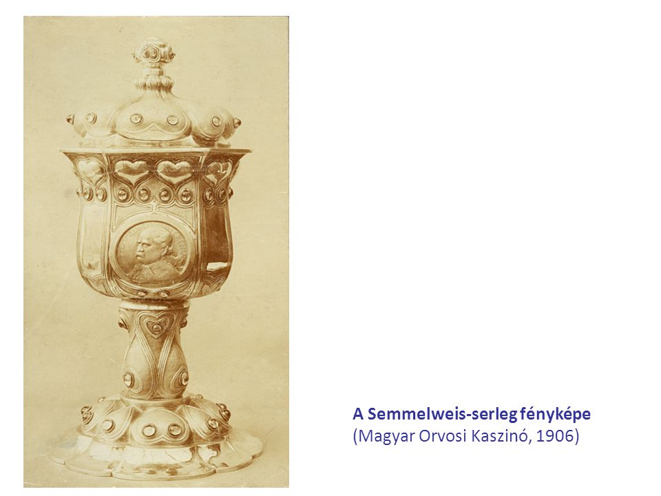 Mi mindent jelenthet a kehely számunkra, illetve a következő generációknak  Tisztelgést Semmelweis nagysága előtt;  Semmelweis Ignác emlékének megerősítését szolgáló különleges, egyedi eszközt;  Semmelweis korának szellemét, ízlését és a klasszikus ötvösművészeti technikákat magas művészi formában tükröző műtárgyat;  Egy több mint 100 éves, elveszett műkincsnek, serlegnek az eredeti technikák alkalmazásával, az utókor számára elkészített kiváló másolatát;  Egyetemi vezetők önkéntes jótékonysági összefogását, jelentős anyagi vállalását a Semmelweis Egyetem további jó hírének, szellemi értékének, tradícióinak növelésére;  Egy felbecsülhetetlen értékű, 108 éve készült, de elveszett műremek újjáélesztését;  A Semmelweis Egyetem élő rektorainak összefogását és üzenetét a jövő generációjának, illetve tisztelgését Semmelweis szelleme előtt;  A Semmelweis Egyetem élő rektorainak összefogását Egyetemünk szellemiségének, értékeinek gazdagodásáért;  A kelyhet, mint a vérszerződés és az áldozat ősi szimbólumát; az ezüstöt, mint a nemesség és tisztaság kifejezőjét; a drágaköveket, mint a csillogás, a kiemelkedő és örökre megmaradó értékek jelzőjét.