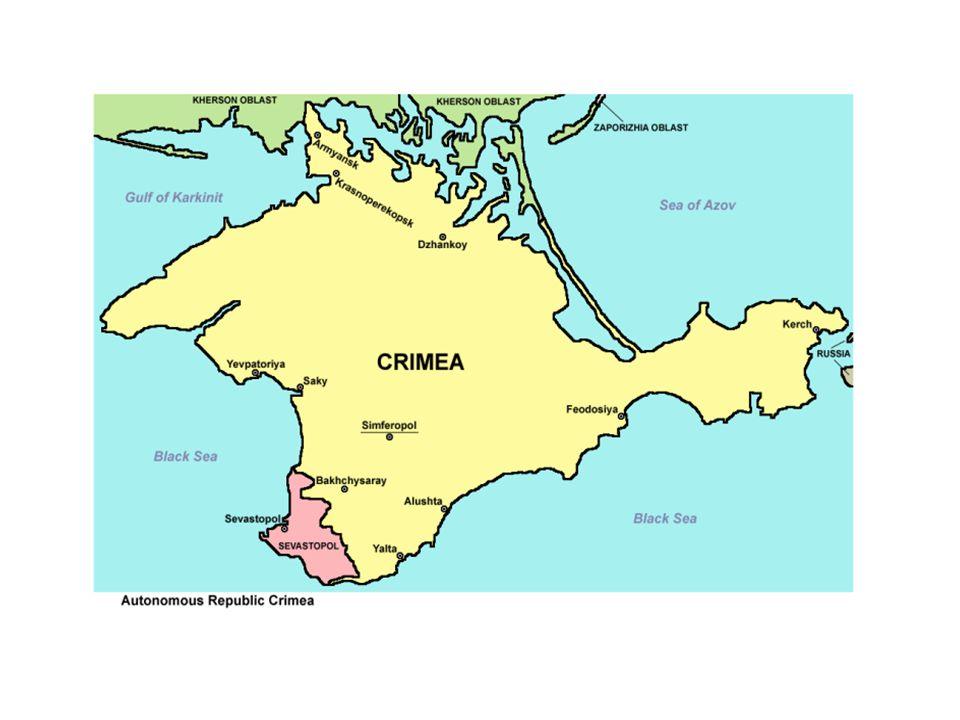 A Krím-félszigeten már az ókorban görög kolónikák létesültek A népvándorlás idején mindenféle népek, besenyők, kunok, és a magyarok is megfordultak itt, de felhajózva idáig telepeket létesítettek a genovaiak is.