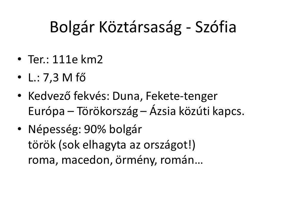 1.É-Bolgár tábla (Al-Duna völgy) + Dobrudzsa fele.