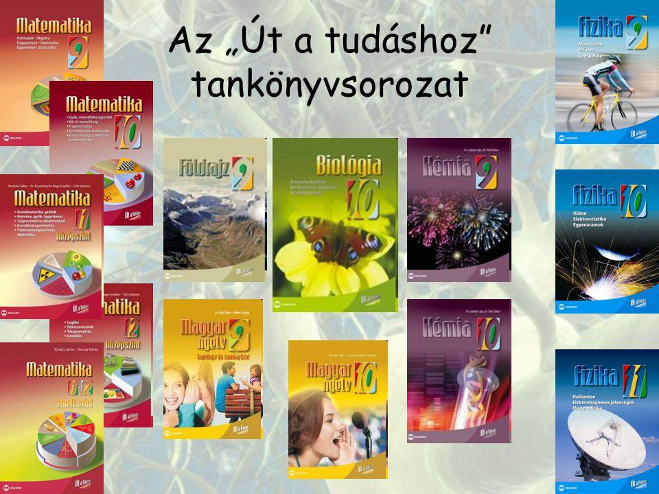 """Az """"Út a tudáshoz tankönyvsorozat"""