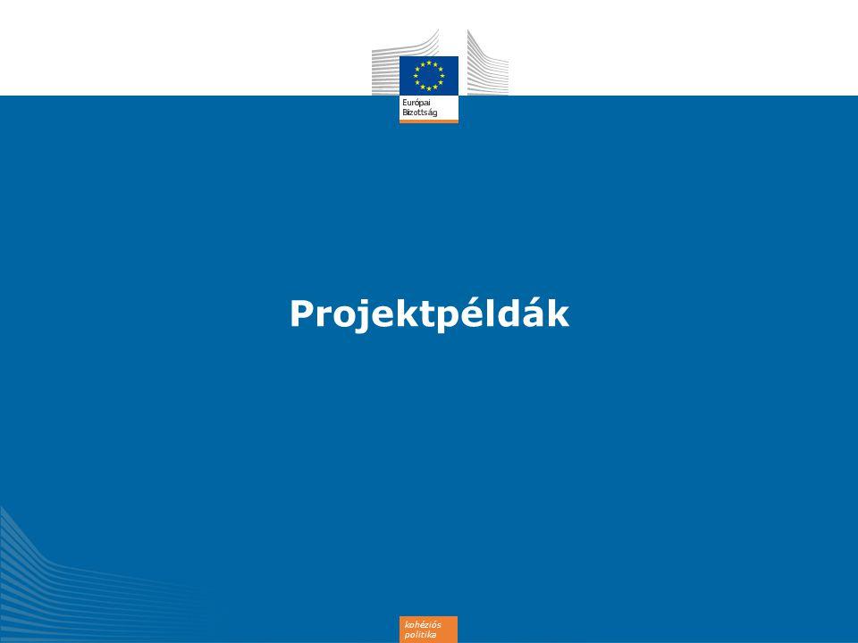 kohéziós politika Projektpéldák
