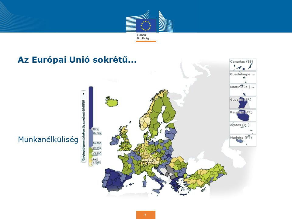 5 Az Európai Unió sokrétű... Felső-oktatás