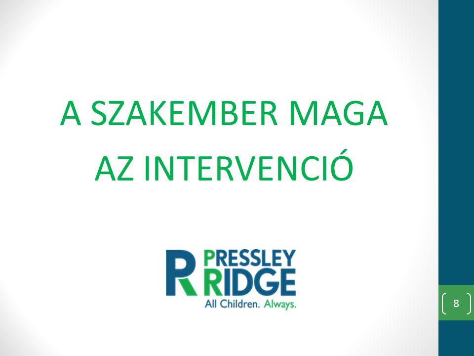 A SZAKEMBER MAGA AZ INTERVENCIÓ 8