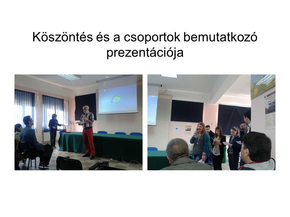 A magyar csapat bemutatója a magyar migrációs politikáról