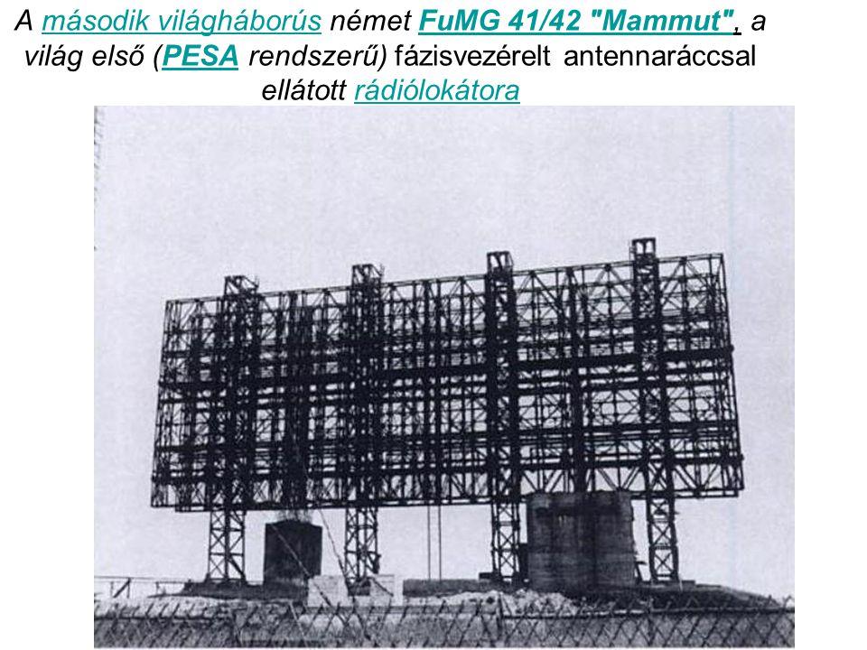 A második világháborús német FuMG 41/42