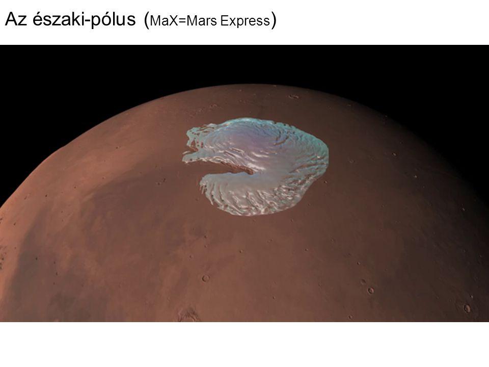 Az északi-pólus ( MaX=Mars Express )