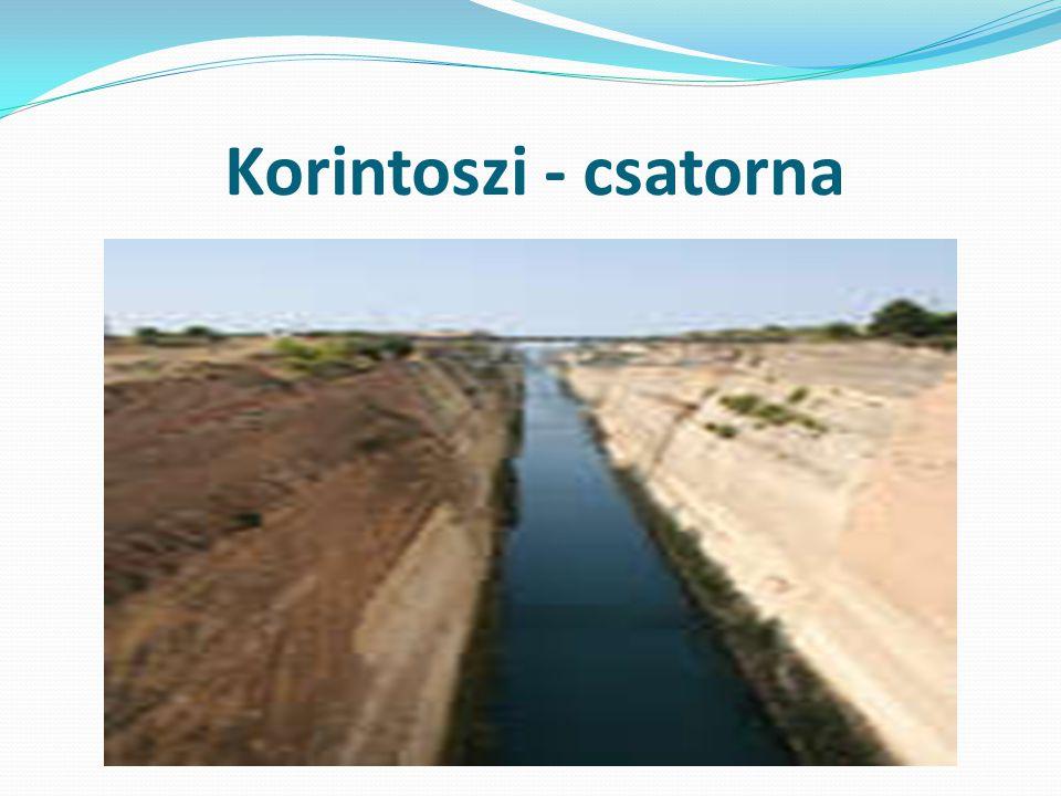 Korintoszi - csatorna