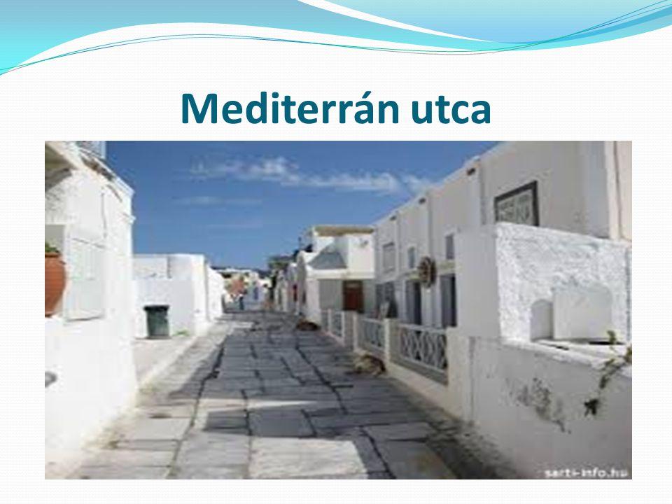 Mediterrán utca