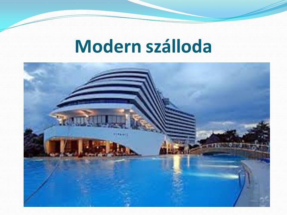 Modern szálloda