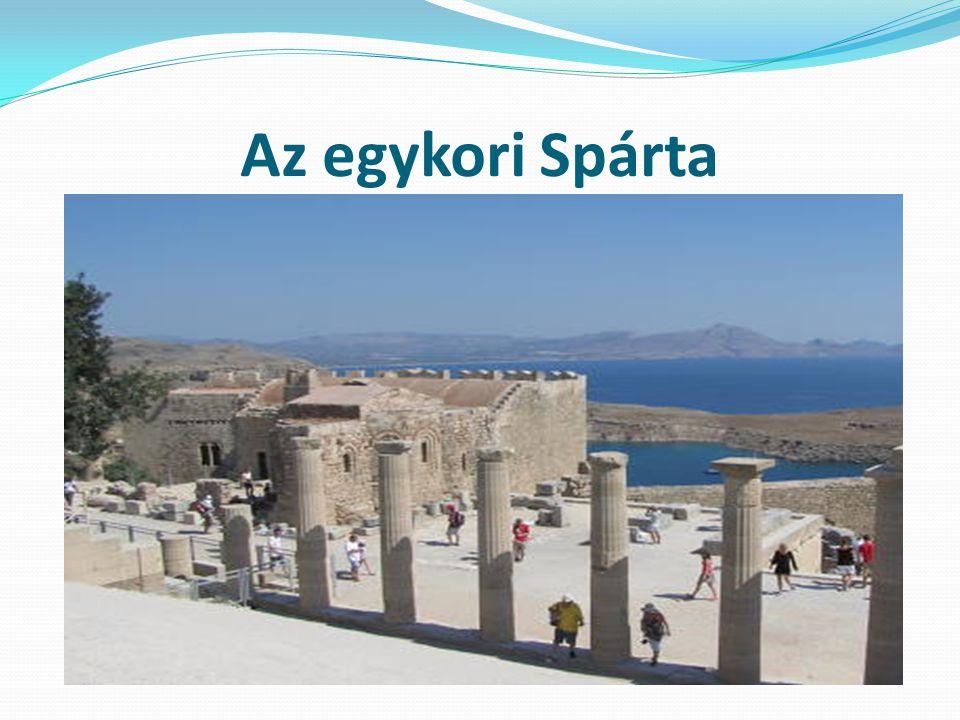 Az egykori Spárta