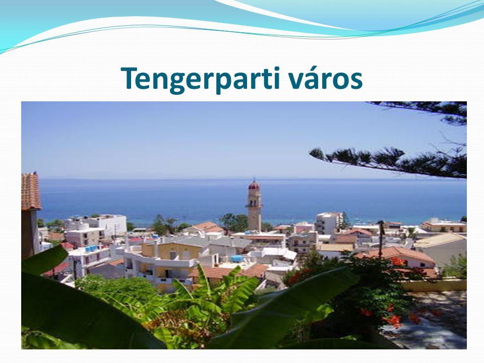Tengerparti város