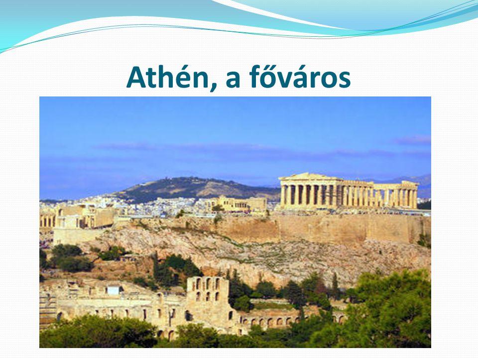 Athén, a főváros