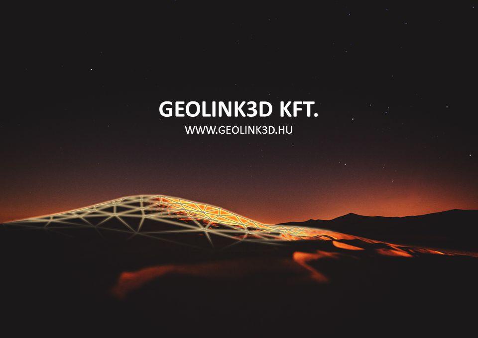 GEOLINK3D KFT. WWW.GEOLINK3D.HU