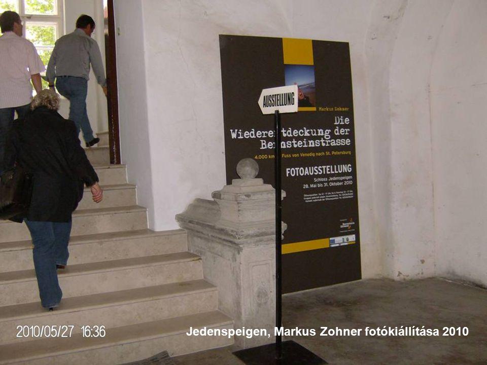 Jedenspeigen, Markus Zohner fotókiállítása 2010