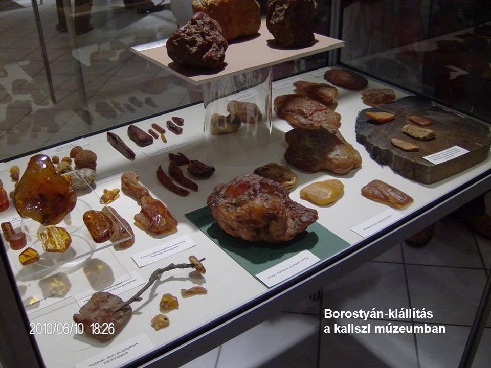 Borostyán-kiállítás a kaliszi múzeumban