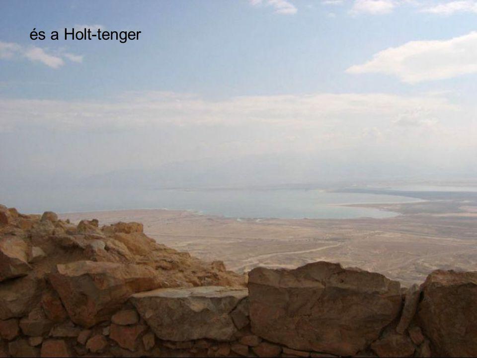 és a Holt-tenger