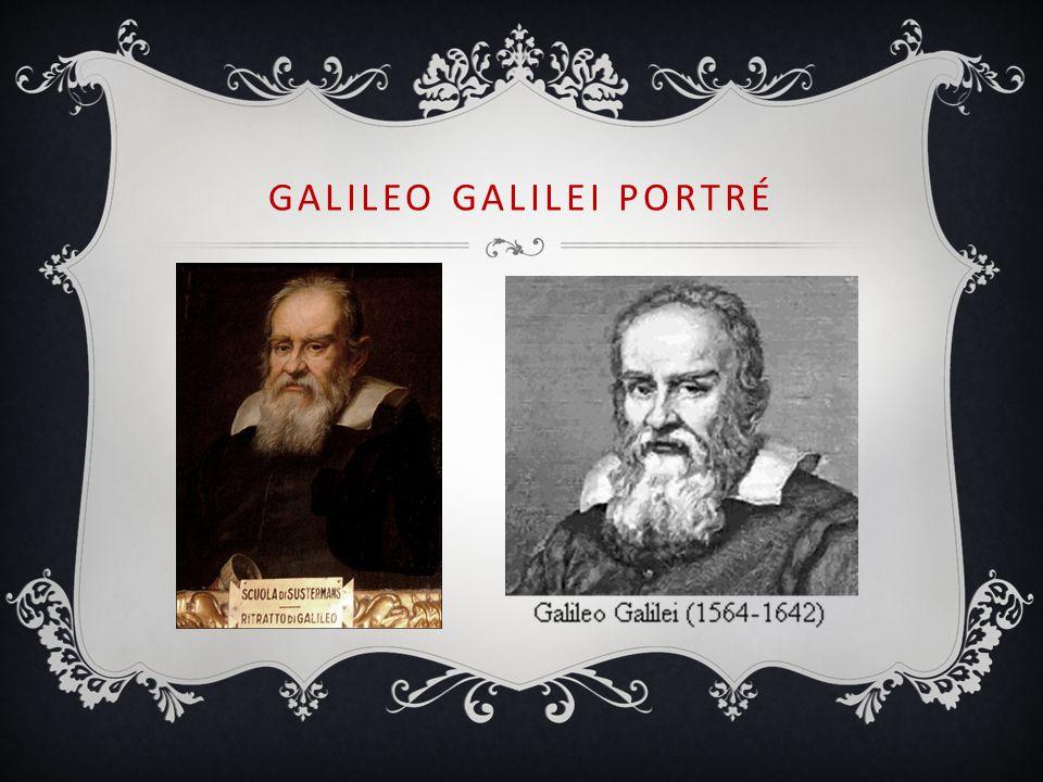 GALILEO GALILEI PORTRÉ