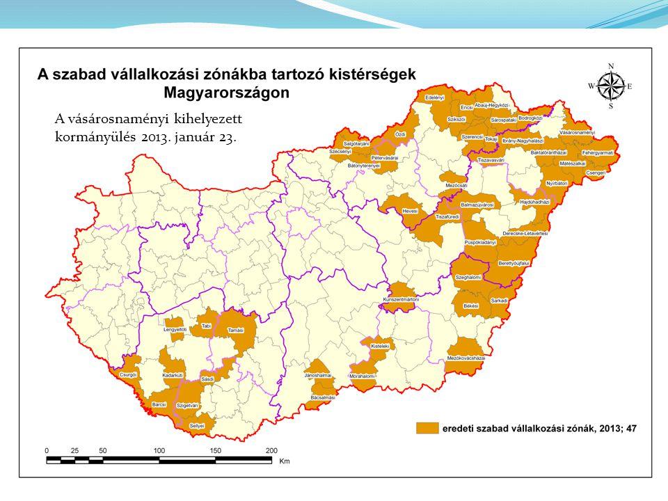 A vásárosnaményi kihelyezett kormányülés 2013. január 23.