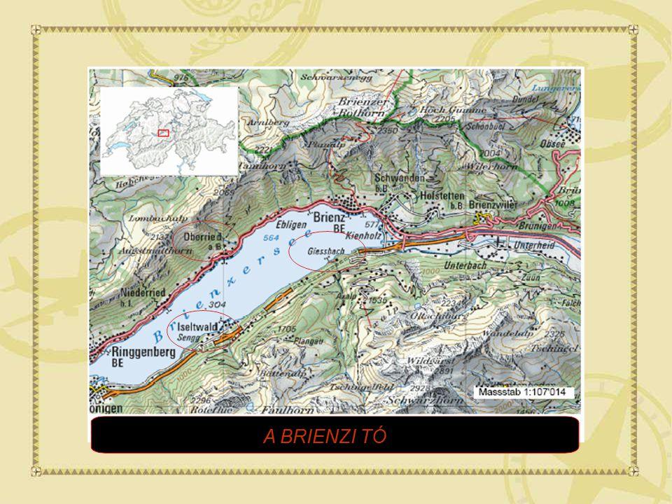 Iseltwald és Giessbach Svájcban, a Berni Kantonban, a Brienzi tó partján található festői szépségű települések.