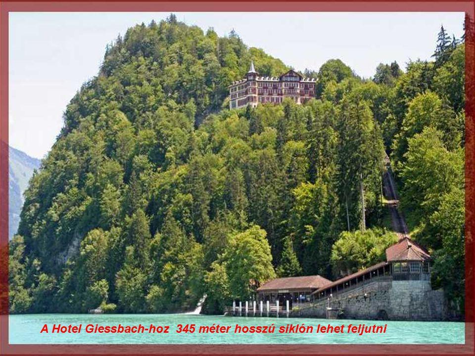 Giessbach hotel 1875-ben épült
