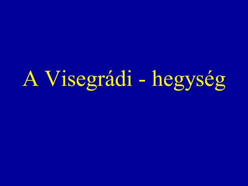 A Visegrádi-hegység a Dunakanyarban - a Duna jobb partján- fekvő hegyvonulat, amely földrajzilag az Északi- középhegység része, geopolitikai szempontból viszont többnyire a Dunántúli-középhegységhez sorolják.