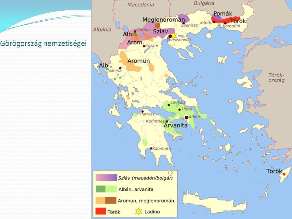 A Délkelet-Európában fekv ország a Balkán-félsziget déli részét foglalja el.