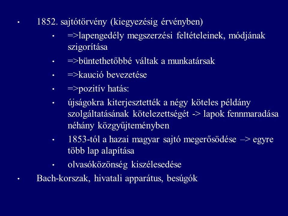 Ifjúság Lapja 1853-'54.1853-'54.