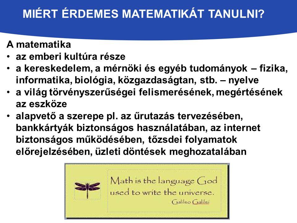 OSZTATLAN MATEMATIKA-X SZAKOS TANÁRKÉPZÉS A képzés célja matematikatanárok képzése (5 – 12.