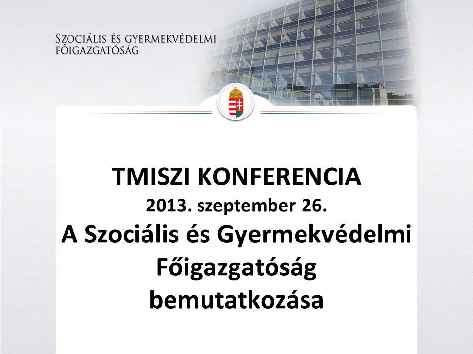 Az ellátórendszer szereplői: Állam Önkormányzat Egyházak Civil szervezetek Saját hatáskörben Szociális és Gyermekvédelmi Főigazgatóság Ellátás - Átlátás