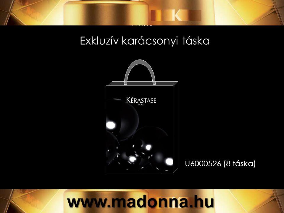 Exkluzív karácsonyi táska U6000526 (8 táska) www.madonna.hu