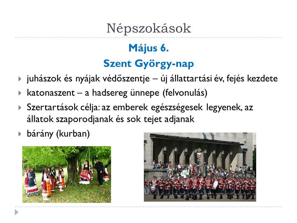 Népszokások Május 6.