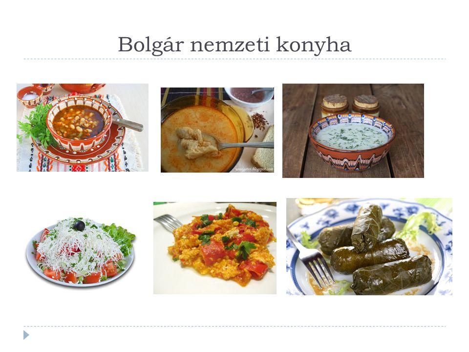 Bolgár nemzeti konyha