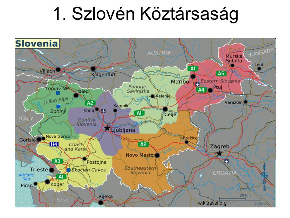 1. Szlovén Köztársaság wikitravel.org