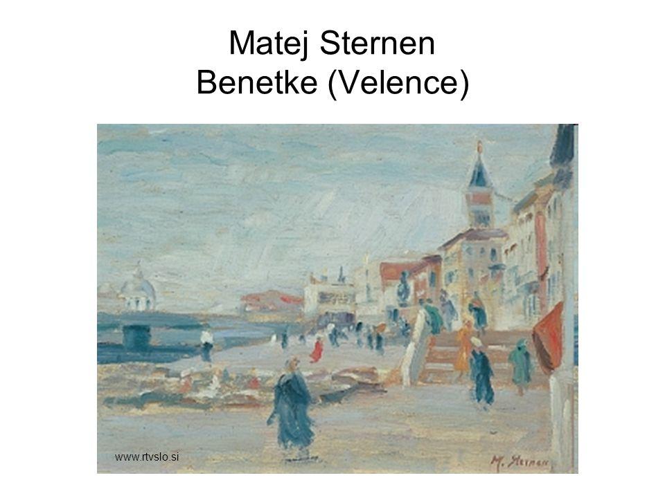 Matej Sternen Benetke (Velence) www.rtvslo.si