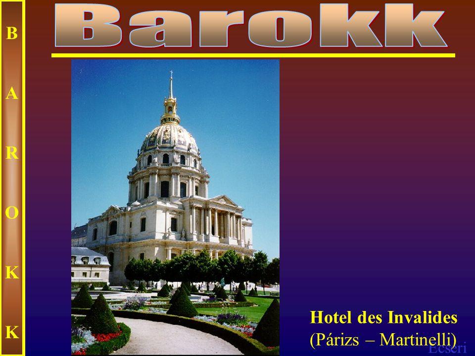 Ecseri BAROKKBAROKK Egri minorita templom