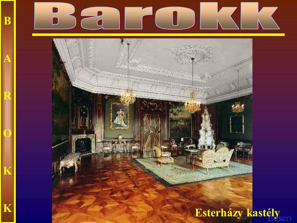 Ecseri BAROKKBAROKK Sárvári kastély