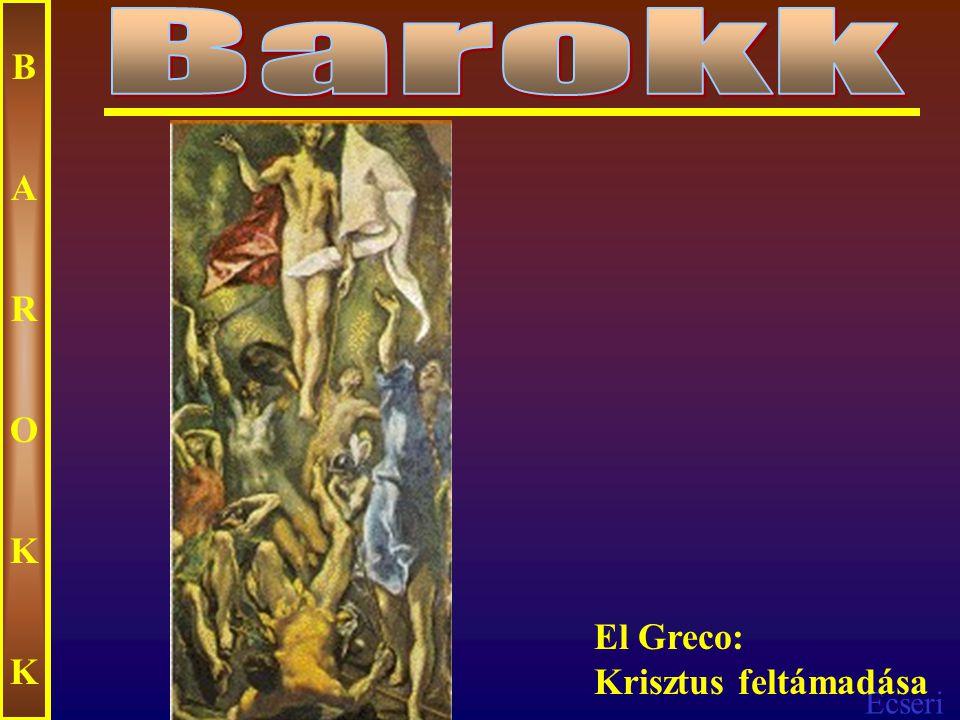 Ecseri BAROKKBAROKK El Greco: Szent Márton és a koldus