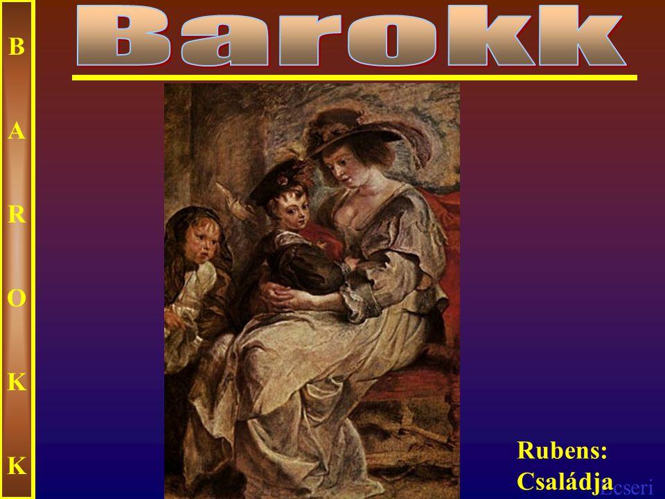 Ecseri BAROKKBAROKK Rembrandt: Levétel a keresztről