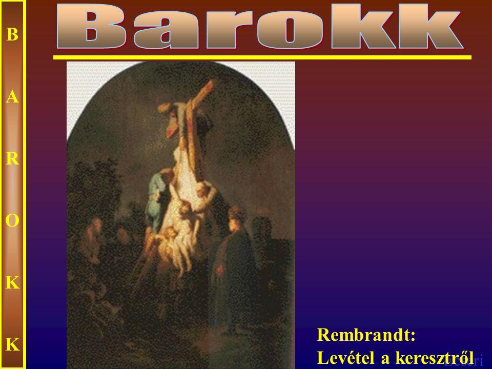 Ecseri BAROKKBAROKK Rembrandt Krisztus sírbatétele