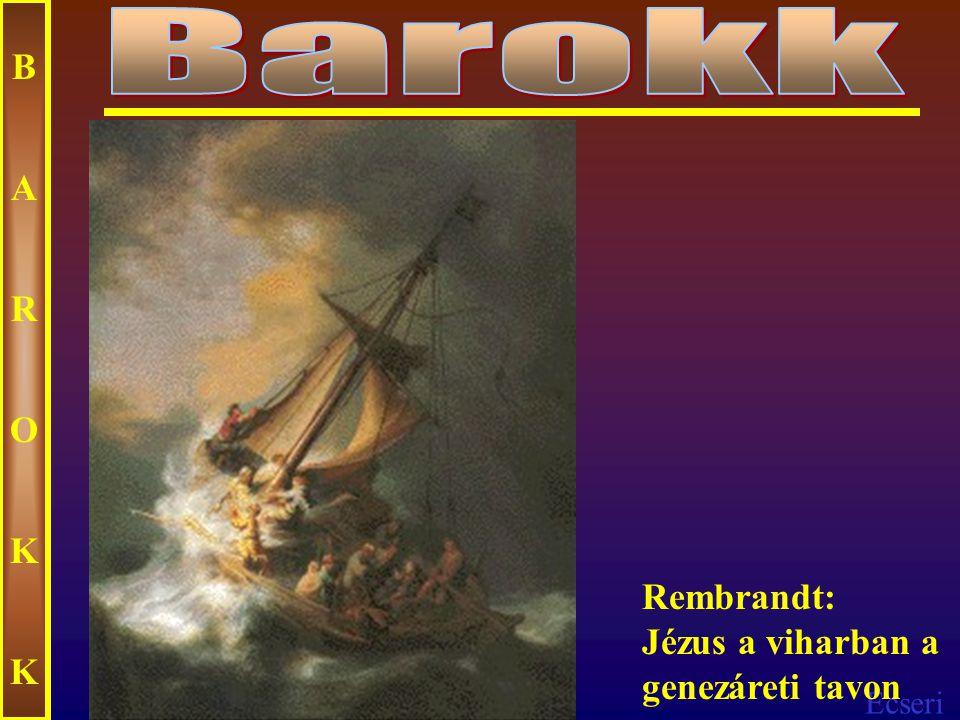 Ecseri BAROKKBAROKK Rembrandt: Jákob áldása