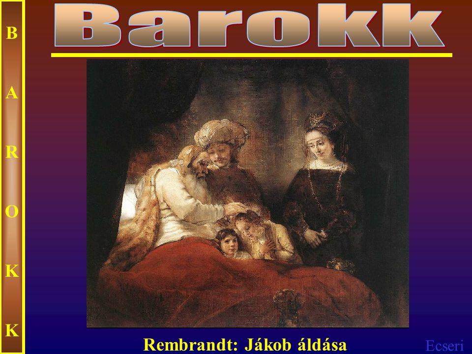 Ecseri BAROKKBAROKK Rembrandt: Éjjeli őrjárat