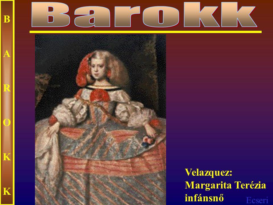 Ecseri BAROKKBAROKK Murillo: Szeplőtelen fogantatás