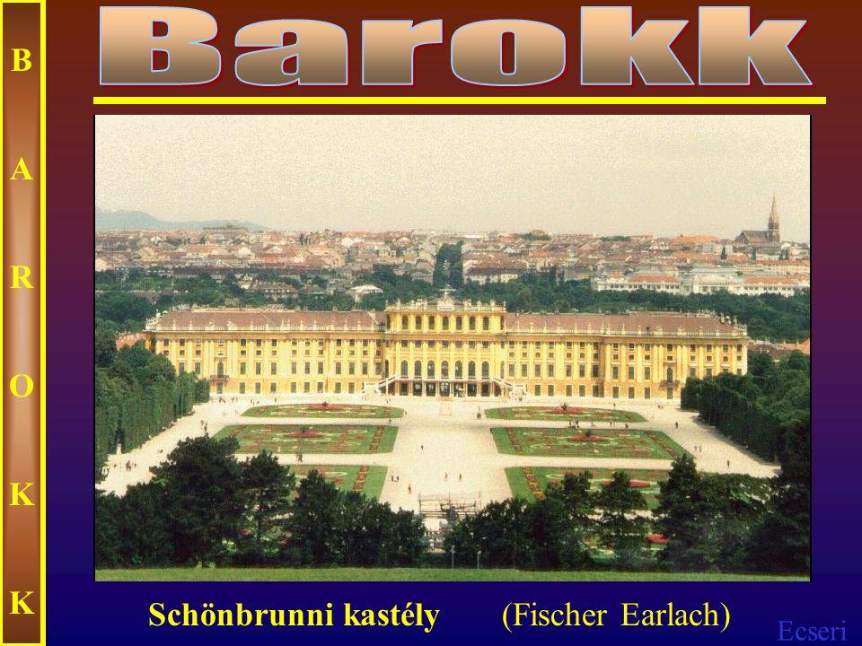 Ecseri BAROKKBAROKK Belvedere – palota (Lucas Hildenbrandt)