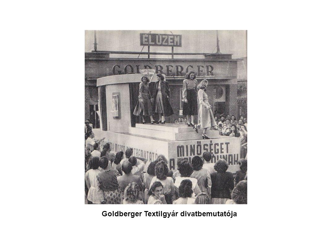 Goldberger Textilgyár divatbemutatója